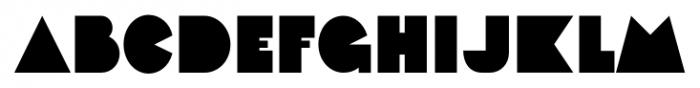 Faux Decaux JNL Regular Font LOWERCASE