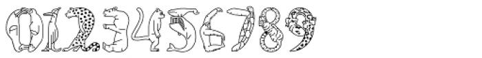 Fabel Line Font OTHER CHARS