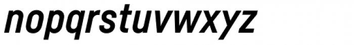 Fabrikat Bold Italic Font LOWERCASE