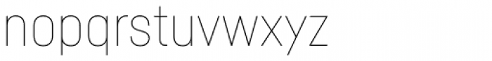 Fabrikat Hairline Font LOWERCASE