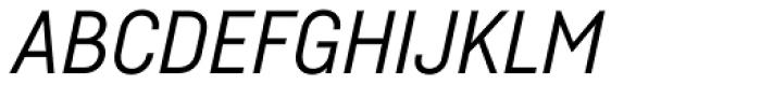 Fabrikat Italic Font UPPERCASE