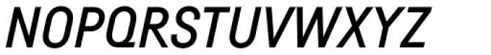 Fabrikat Medium Italic Font UPPERCASE