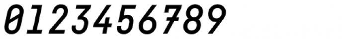 Fabrikat Mono Medium Italic Font OTHER CHARS