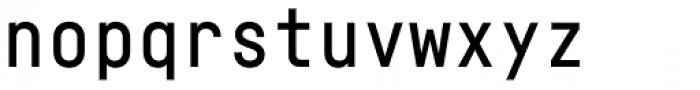 Fabrikat Mono Medium Font LOWERCASE