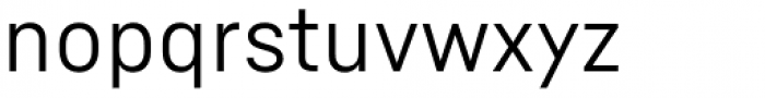 Fabrikat Normal Regular Font LOWERCASE