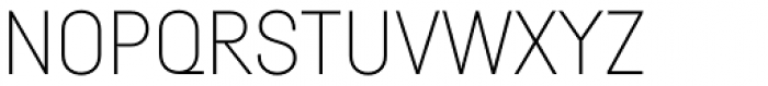 Fabrikat Thin Font UPPERCASE