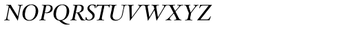 Fabrizio Superior Italic Font UPPERCASE