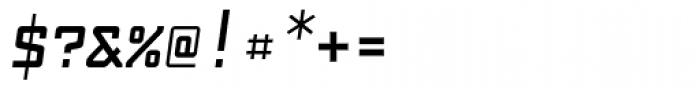 Fabryka 4F Bold Italic Font OTHER CHARS
