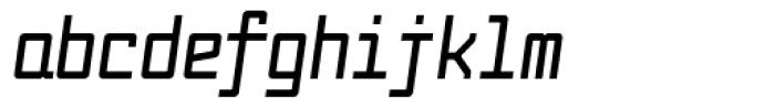 Fabryka 4F Bold Italic Font LOWERCASE