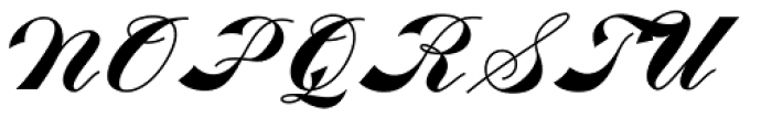 Fabulous Font UPPERCASE