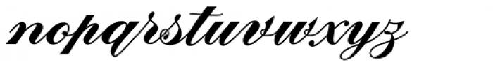 Fabulous Font LOWERCASE