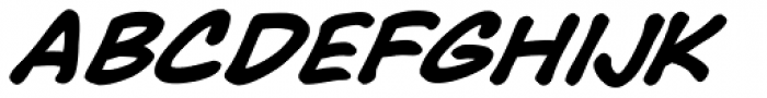 Face Front Bold Italic Font UPPERCASE