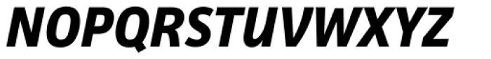 Facit Bold Italic Font UPPERCASE