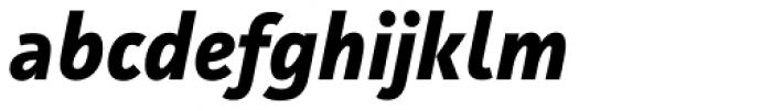 Facit Bold Italic Font LOWERCASE