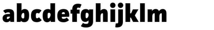 Facit ExtraBold Font LOWERCASE