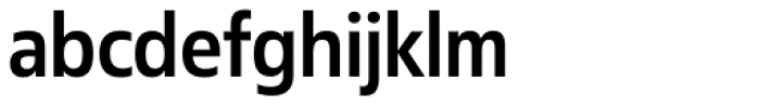 Fact Narrow Medium Font LOWERCASE