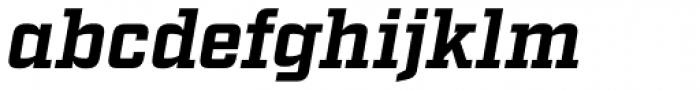 Factoria Bold Italic Font LOWERCASE