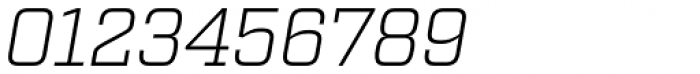 Factoria Light Italic Font OTHER CHARS