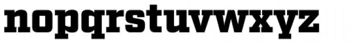 Factoria Ultra Font LOWERCASE