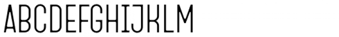 Fada Light Font UPPERCASE