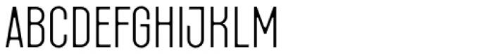 Fada Light Font LOWERCASE