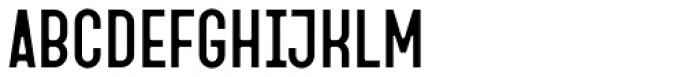 Fada Medium Font UPPERCASE