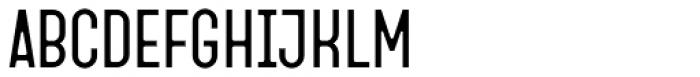 Fada Regular Font UPPERCASE