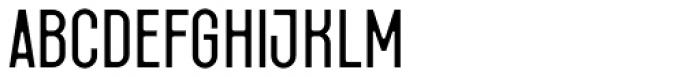 Fada Regular Font LOWERCASE