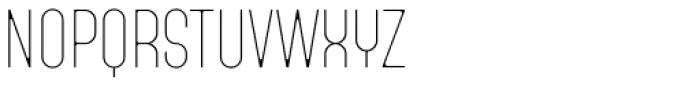 Fada Ultra Light Font UPPERCASE