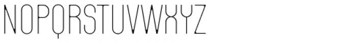 Fada Ultra Light Font LOWERCASE