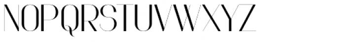Faddish Bold Font UPPERCASE