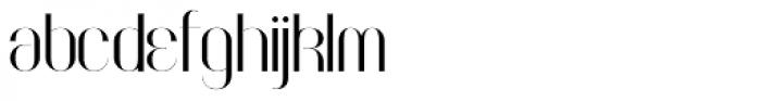 Faddish Bold Font LOWERCASE