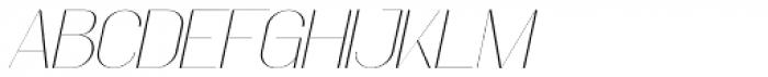 Faddish Italic Font UPPERCASE