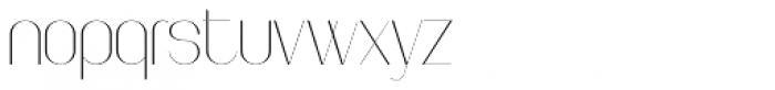 Faddish Regular Font LOWERCASE