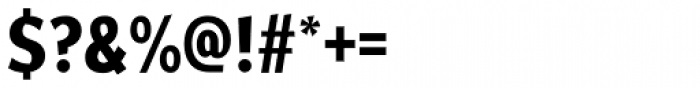 Fair Sans Cond SemiBold Font OTHER CHARS