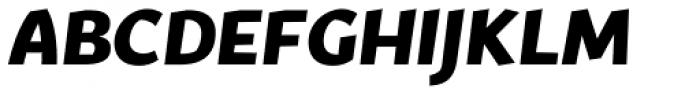 Fair Sans Text Bold Italic Font UPPERCASE