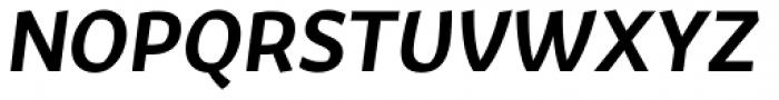 Fair Sans Text SemiBold Italic Font UPPERCASE