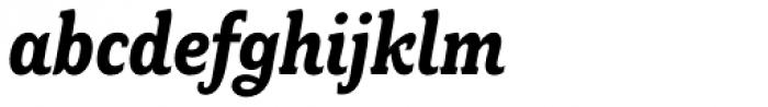 Fairplex Narrow Bold Italic Font LOWERCASE
