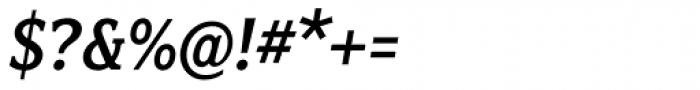 Fairplex Narrow Medium Italic Font OTHER CHARS