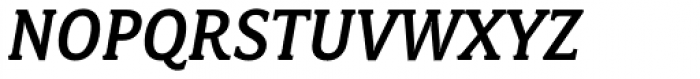 Fairplex Narrow Medium Italic Font UPPERCASE