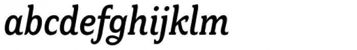 Fairplex Narrow Medium Italic Font LOWERCASE
