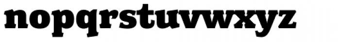 Fairplex Wide Black Font LOWERCASE