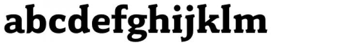 Fairplex Wide Bold Font LOWERCASE