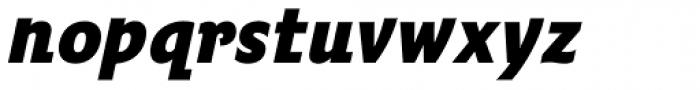 Fairway Bold Italic Font LOWERCASE
