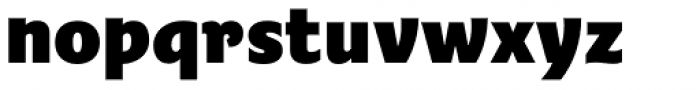 Fairway ExtraBold Font LOWERCASE