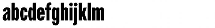Fairweather Black Font LOWERCASE
