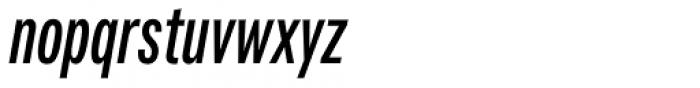 Fairweather Bold Italic Font LOWERCASE