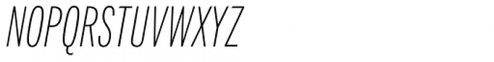 Fairweather Extra Light Italic Font UPPERCASE
