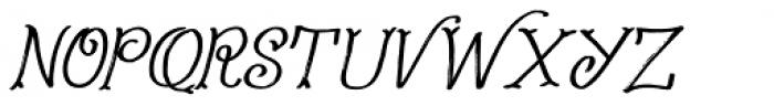 Fairy Godmother Italic Font UPPERCASE
