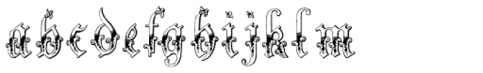Fairybook Font LOWERCASE